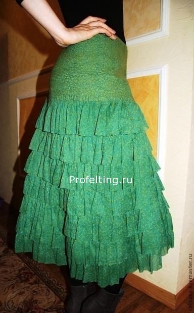 войлочная юбка
