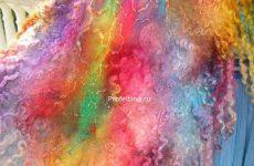 Приглашаю на мой новый вебинар «Валяем и красим палантины» . Два вебинара 3 и 6 июля 2014 г.